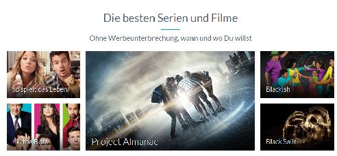 Filmangebot Maxdome