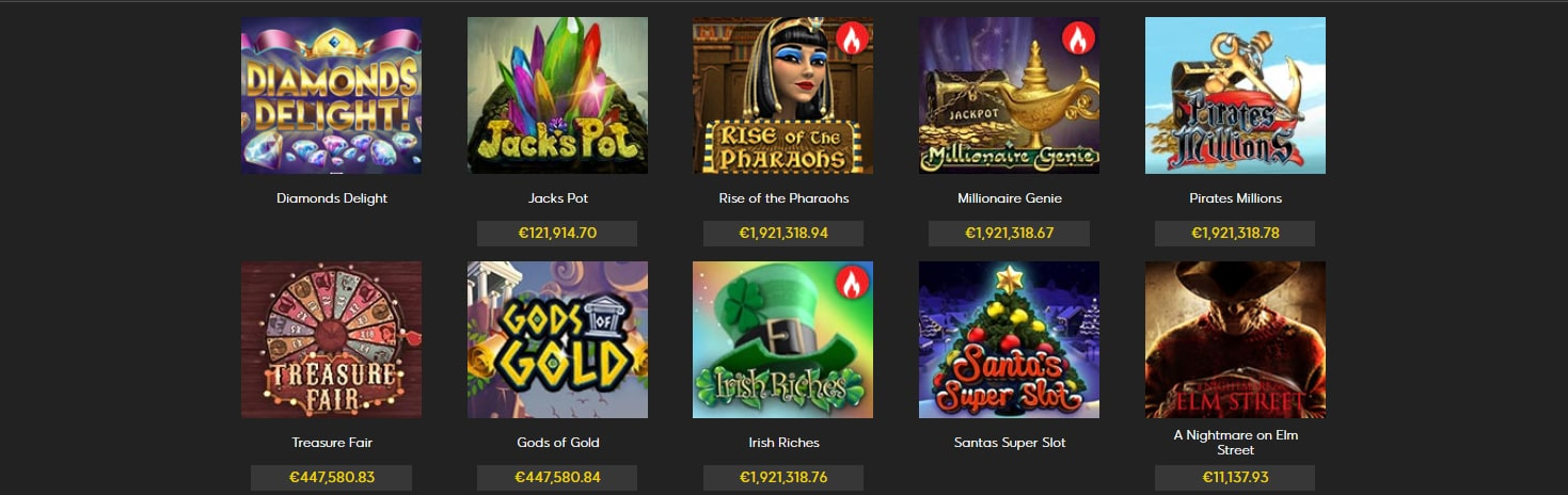 888 casino jackpots